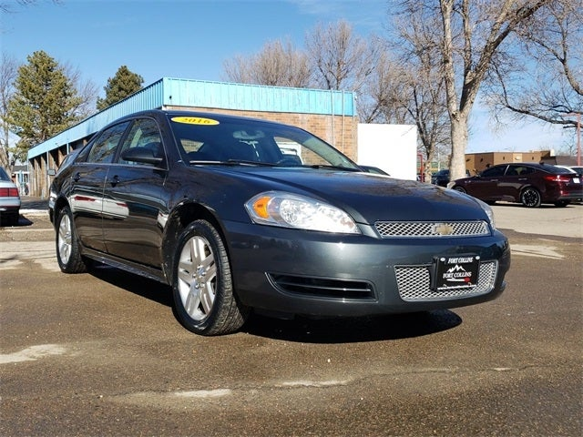 Used 2016 Chevrolet Impala Limited For Sale Greeley Co Fort Collins M7169132a